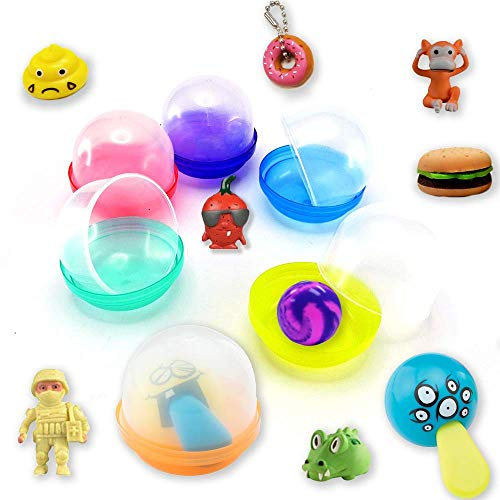 Treasure Chest MYSTERY Mix Toys in 2 Inch Vending Capsules - 250 Count, with Display by FIRST CLASS VENDING (Image #1)