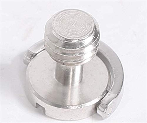 10pcs Iron 3//8 inch Camera Screw for Tripod Monopod Ball Head Quick Release Plate