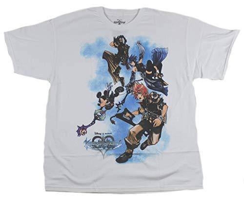 Mad Engine Kingdom hearts Birth by Sleep: Super Flying T-Shirt, Adult Size XXLarge (Kingdom Hearts Mad Engine)