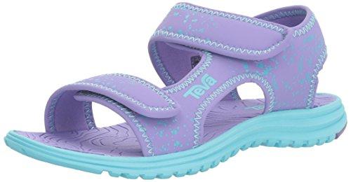Picture of Teva Girls' Tidepool Sandal, Purple/Scuba Blue Splatter, 10 M US Toddler