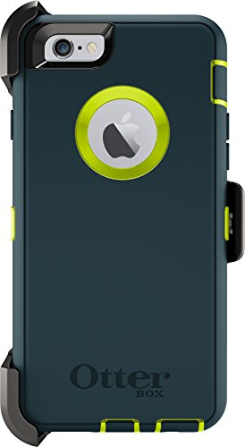 OtterBox DEFENDER Series Case and Belt Clip Holster for Apple iPhone 6s/iPhone 6 - Retail Packaging - Jade/Green