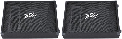 Pair Peavey PV15M PV Series 2,000 Watt 15