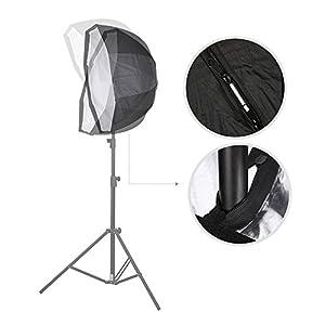 Godox 120cm / 47.2in Portable Octagon Softbox Umbrella Brolly Reflector for Speedlight Flash
