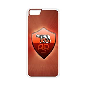 iPhone 6 4.7 Inch Cell Phone Case White As Roma Logo gcmm