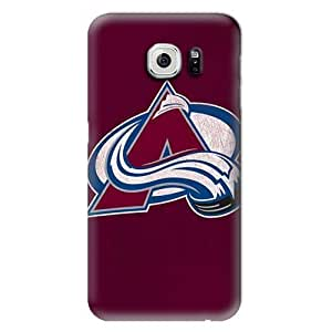 S6 Case, NHL - Colorado Avalanche Distressed - Samsung Galaxy S6 Case - High Quality PC Case