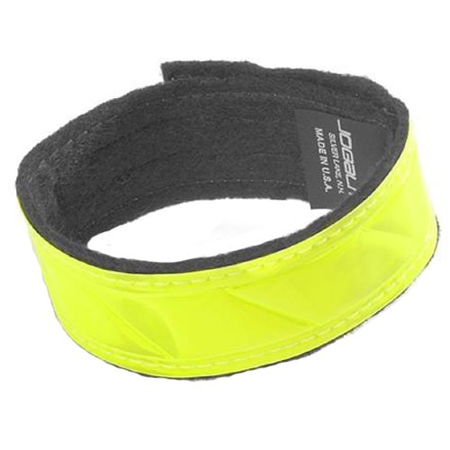 Reflective Band - Made With Genuine Reflexite in America - By Jogalite (Pair of ()