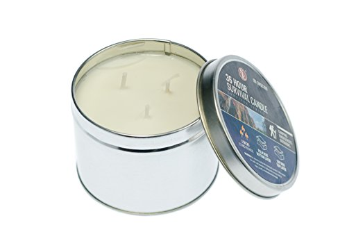 SE OD-3WSC100 3-Wick 36-Hour Emergency Candle