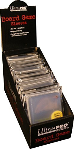 (Standard American Board Game Sized Sleeves - Clear (12 Packs of 50))