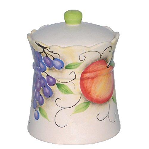 Polish Pottery Butter Dish 7-inch Poppies UNIKAT