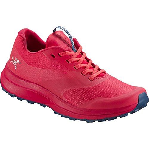 Arc'teryx Women's Norvan LD Dragon Fruit/Poseidon Rubber Trail Running Shoe 7.5