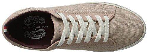 Tommy Hilfiger E1285liza 7c1, Zapatillas para Mujer Rosa (Dusty Rose 502)