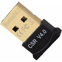 Bluetooth 4.0 USB Low Energy Micro Adapter Dongle voor PC met Windows 10/8.1/8/7 / Vista/XP Raspberry Pi Linux en Stereo…