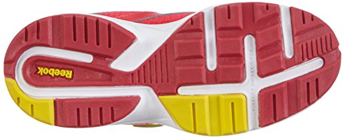 Reebok Almotio 2.0 Unisex-Kinder Sneakers Pink (Blazing Pink/Stinger Yellow/White)
