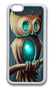 Apple Iphone 6 Case,WENJORS Awesome Night Owl I Soft Case Protective Shell Cell Phone Cover For Apple Iphone 6 (4.7 Inch) - TPU White hjbrhga1544