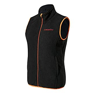 CONQUECO Heated Vest for Men & Women, Electric Body Wamer Gilet with Rechargeable Battery 10000mah 6