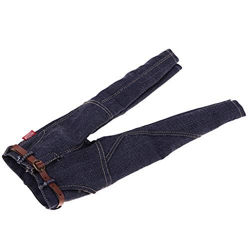 En Pour Style '' 2 Denim Homyl 12 1 À Figurines Pantalons Jeans Style L'échelle Hommes 1 6 EqxBxfTw