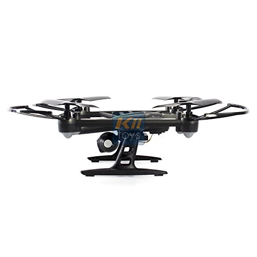 Drone with Camera Live Video - Predator FPV VR Quadcopter, Virtual Reality First Person View Flight in Real Time, Air Pressure Sensor Attitude Lock, Easy Control Headless Mode, Return Home Key