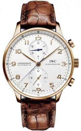 Mens-IWC-Watch-Portuguese-Rose-Gold-Chronograph-IW371480
