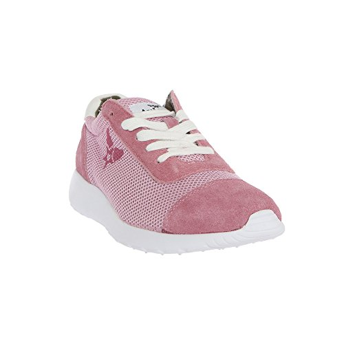 AVIREX Damen Sneakers, Sportschuhe mit Schnürsenkeln 161W81975 HARLIN Rosa - Eis
