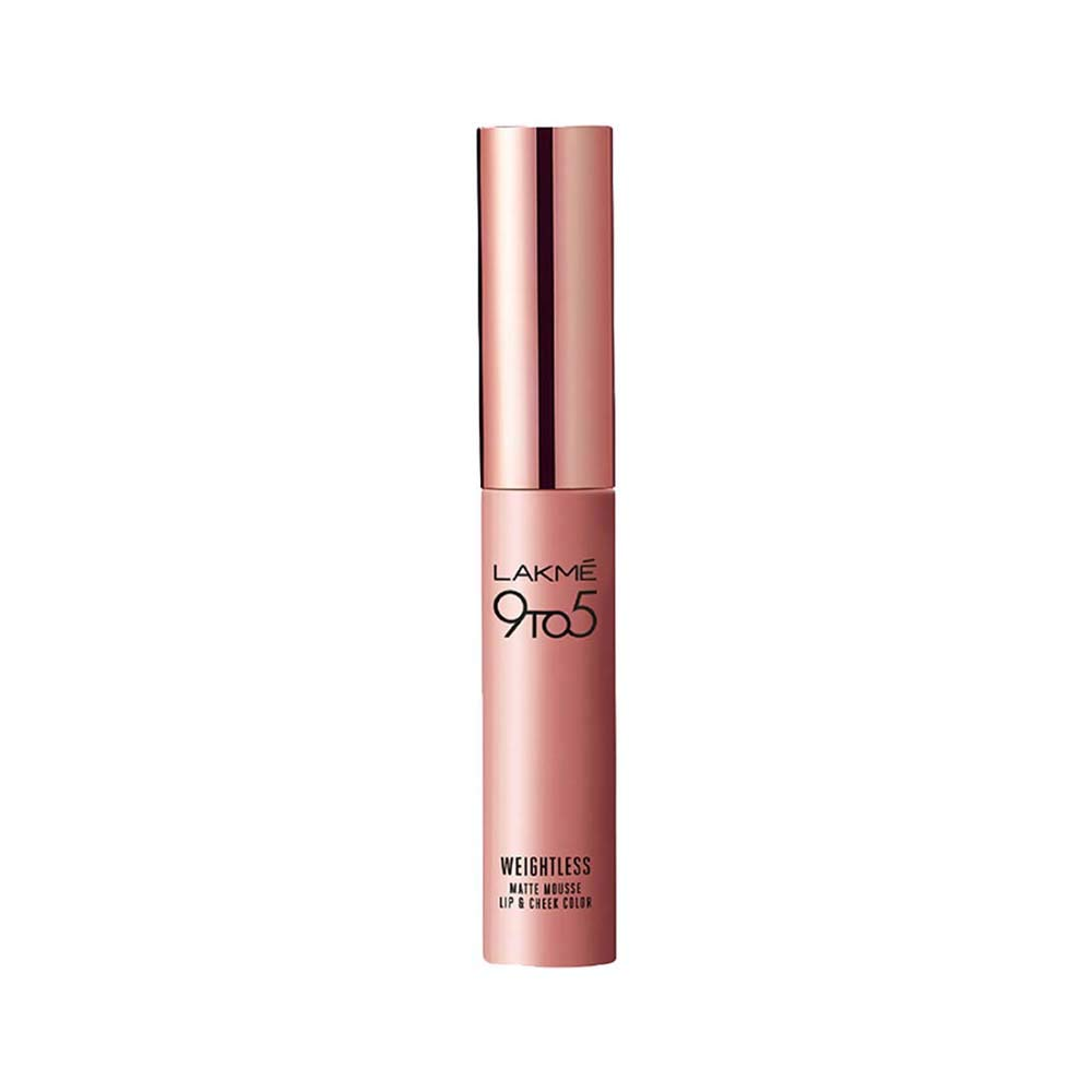 Lakme 9 To 5 Weightless Matte Mousse Lip & Cheek Color-1