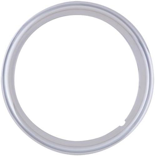 QT545CHS-x4 ABS Chrome Trailer Ring /& HUB Cap for 15 Trailer Wheels 4.5 Bolt Circle 15 Phoenix 1503 5 Lug BA Products Set of 4 13//16 Lug Nuts