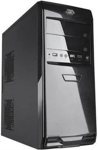 iMicro ca-im253b ATX torre Midi de ordenador, fuente de alimentación de 400 W, color negro: Amazon.es: Electrónica