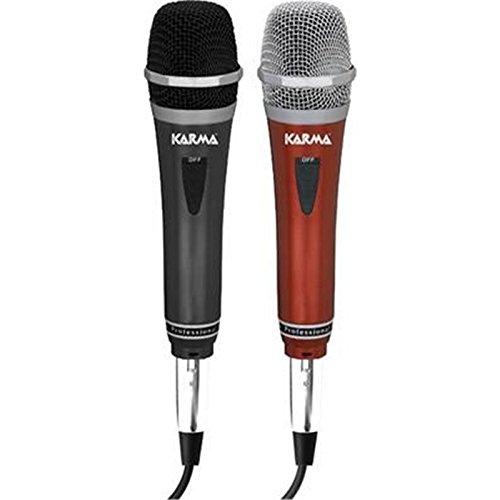23 opinioni per Karma Italiana DM 522 microfono (coppia) per karaoke, parlato, ecc- on-off +