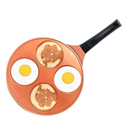 10 Inch Nonstick PFOA Free Pancake Fried Egg Blini Pan Griddle with Bakelite Handle - Blini Pan