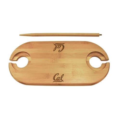 The College Artisan Cal Bamboo Picnic Table