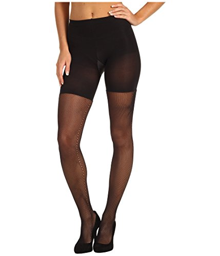 - SPANX Side Seam Fishnet Black