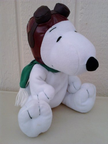 peanuts-snoopy-flying-ace-pilot-plush-metlife-doll