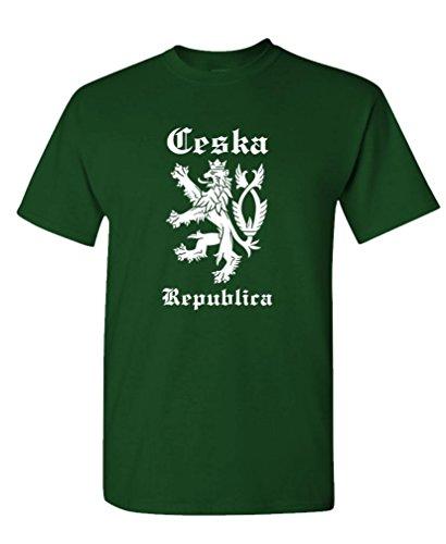 GOOZLER CESKA Mens Cotton T Shirt