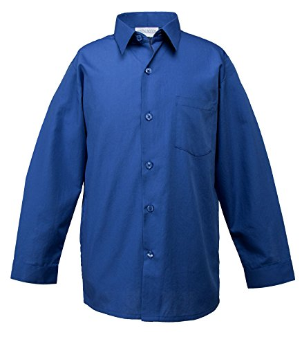 4t royal blue dress shirt - 5