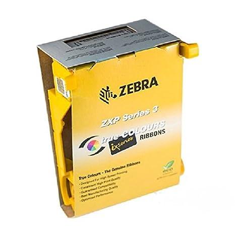 Zebra True Colours 800033-840 Ribbon Cartridge - YMCKO  IX COLOR RIBBON  YMCKO 200IMAGE PER ROLL FOR ZXP SERIES 3 BP-SP  Dye Sublimation, Thermal