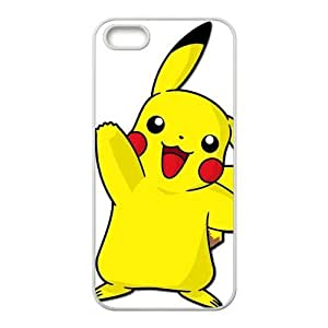 Case for iPhone 5s,Cover for iPhone 5s,Case for iPhone 5,Hard Case for iPhone 5s,Pokemon Pikachu Design TPU Hard Case for Apple iPhone 5 5S
