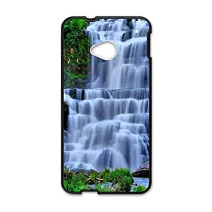 Waterfall HTC One M7 Cell Phone Case Black