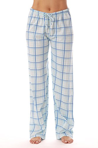 - Just Love Women Plaid Pajama Pants Sleepwear 6324-BLU-10281-1X