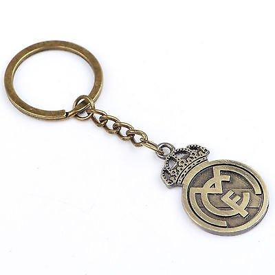 Real Madrid Metal Keychain (Madrid Metal Real Keychain)
