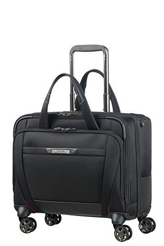(SAMSONITE PRO-DLX 5 - Spinner Tote for 15.6'' Laptop 3.3 KG Travel Tote, 44 cm, 22 liters, Black)