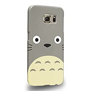 Case88 Premium Designs My Neighbor Totoro 0666 Protective Snap-on Hard Back Case Cover for Samsung Galaxy S6