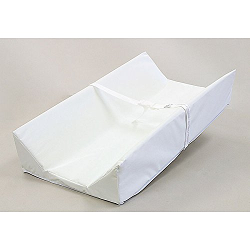 LA Baby Commercial Grade Contoured Changing Pad Features a 4-sided Design to Keep Baby Safely in Place