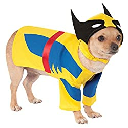 Rubie's Costume Co Marvel Universe Wolverine Pet Costume, Medium