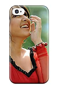 For Iphone 4/4s Protector Case South Actress Hansika Motwani Phone Cover