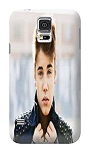 Cool Justin Bieber fashionable Lightweight Waterproof Hard Phone Shell Case for SamSung Galaxy s5
