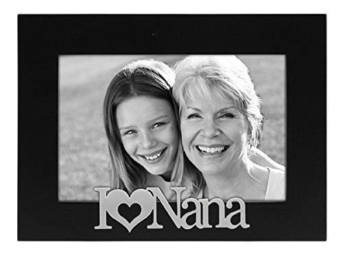 Malden International Designs I Love Nana Expressions Picture Frame, 4x6, Black by Malden International