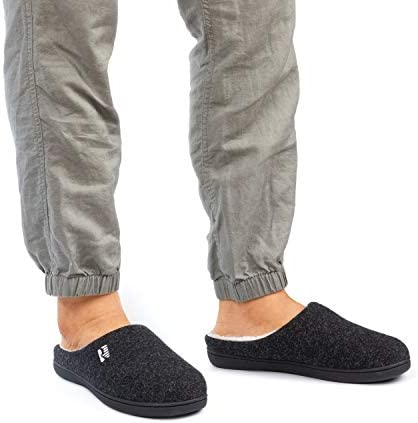RockDove Men Original TwoTone Memory Foam Slipper