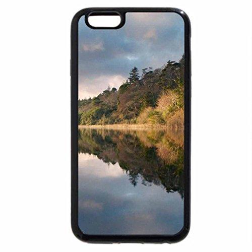 iPhone 6S / iPhone 6 Case (Black) Happy Fish