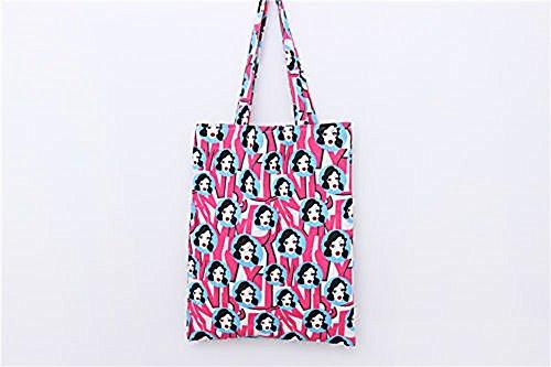 Handmade Cotton Canvas Eco Reusable Shopping Shoulder Bag (Divers Shredder)