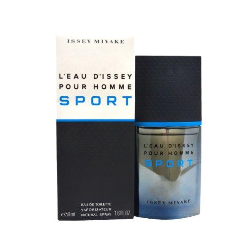 Issey Miyake L'Eau D'Issey Sport Eau De Toilette Spray for Men, 1.6 Ounce