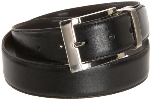 Dockers Men's Reversible Swivel-Buckle Belt,Black/Brown,32 ()